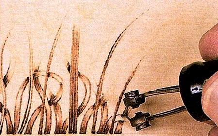 Выжигание травянистых растений - целое искусство