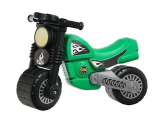Мотоцикл «Моторбайк» зеленый. Вид 1