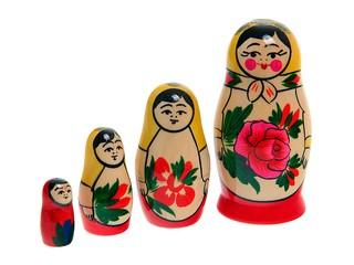 Матрешка 4-х кукольная