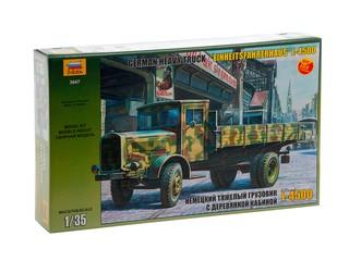Немецкий тяжелый грузовик L-4500. Вид 1