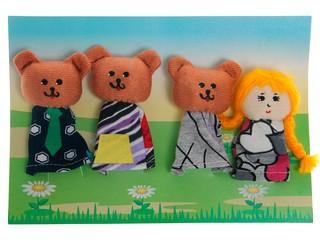 """Пальчиковый театр """"Три медведя"""". Вид 1"""