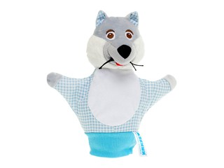 Игрушка-рукавичка Волк. Вид 1