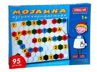 Мозаика Азбука/Арифметика 95 шт.