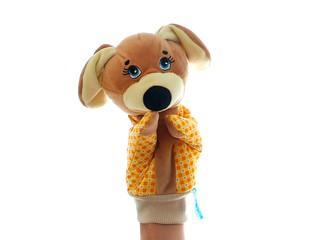 Игрушка-руковичка Собачка