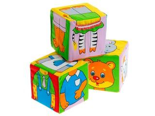 """Кубики """"Собираем по одежке"""". Вид 3"""