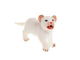 Белый львенок. Вид 1