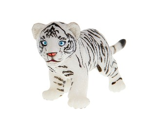 Детеныш белого тигра. Вид 1