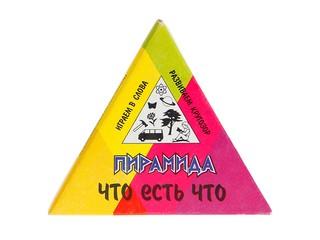 """Пирамида """"Что есть что"""". Вид 1"""