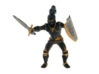 Рыцарь в доспехах черный