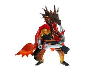 Человек огненного дракона. Вид 1