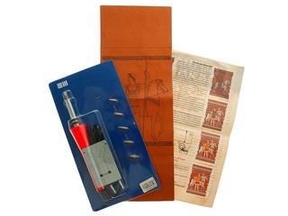 Набор для выжигания по коже (без коробки) Легенды Олимпа. Вид 2