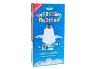 Кристаллы пингвин. Вид 1