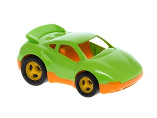 Машинка зеленая