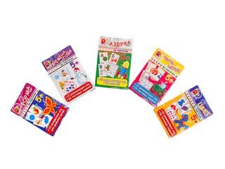 Игры с карточками цвет. Вид 1