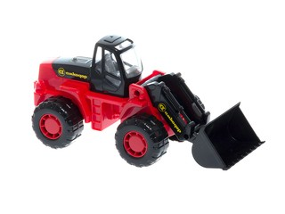 Трактор-погрузчик . Вид 1
