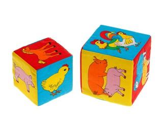 """Кубик """"Чей детеныш?"""". Вид 2"""