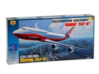 Самолет боинг 747-8