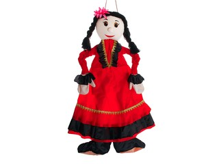 Ростовая кукла цыганка