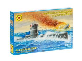 Немецкая подводная лодка тип ХХIII. Вид 1