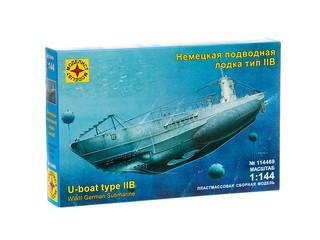 Немецкая подводная лодка тип IIB. Вид 1