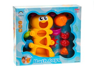 """Игрушка для ванной """"Веселая гусеница"""""""