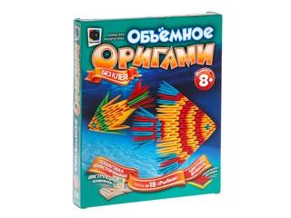 """Объемное оригами """"Две рыбки"""""""