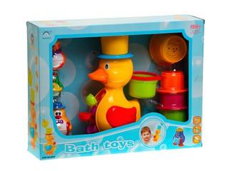 Игрушка для ванной утенок и пингвины