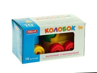Конструктор Колобок 10 дет-коробка