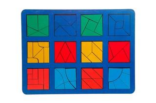 Сложи квадрат макси. Вид 1
