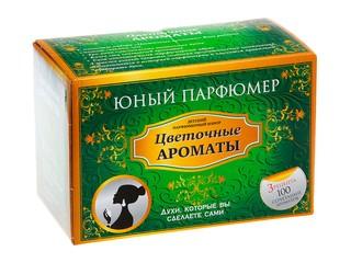 Юный парфюмер набор цветочные ароматы
