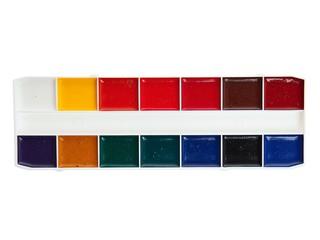 Краски акварель 14 цв мультики . Вид 2