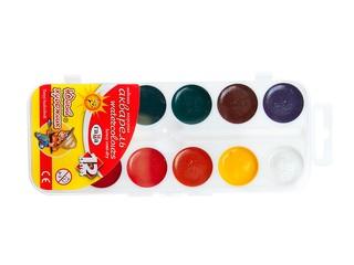 Краски акварель 12 цв юный художник гамма. Вид 1