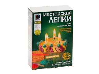 Мастерская лепки свеча фантастическое трио. Вид 1