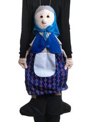 Ростовая кукла бабка