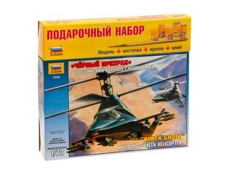 Вертолет ка-58 черный призрак. Вид 1