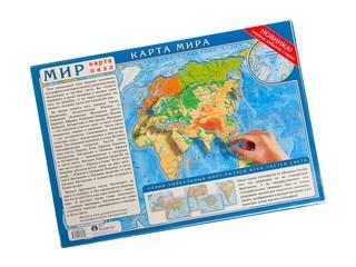 Карта паззл карта мира