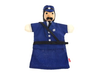 Кукла на руку Полицейский. Вид 2