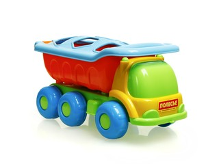Кеша логический автомобиль-самосвал . Вид 1