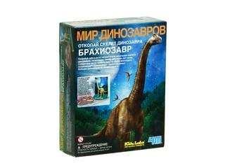 Мир динозавров Брахиозавр . Вид 1