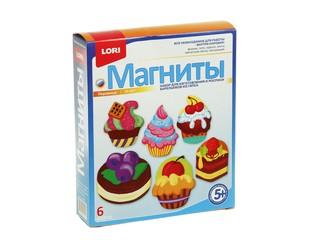 """Фигурки на магнитах """"Пирожные"""". Вид 1"""