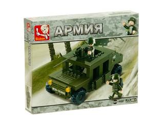 """Конструктор """"Армия"""" одна машина. Вид 1"""