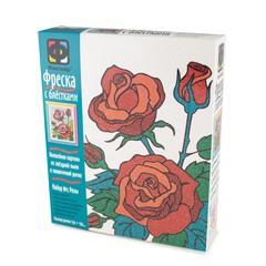Набор для творчества Фантазер Фреска с блестками Розы