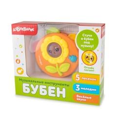 Музыкальная игрушка Азбукварик Музыкальные инструменты Бубен