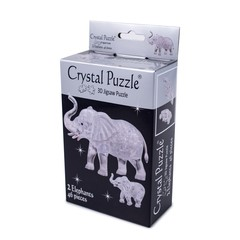 3D Головоломка Crystal Puzzle Два слона