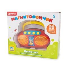 Музыкальная игрушка Азбукварик Магнитофончик Диско-хит