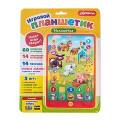 Музыкальная игрушка Азбукварик Игровой планшетик Искалочка