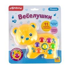 Музыкальная игрушка Азбукварик Веселушки Мишка