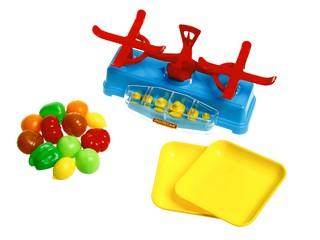 Игровой набор Полесье Весы и набор продуктов
