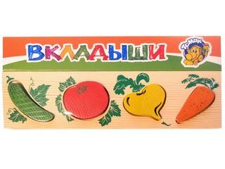 """Рамка-Вкладыш """"Овощи"""". Вид 1"""