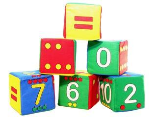 Кубики-мякиши Умная Математика